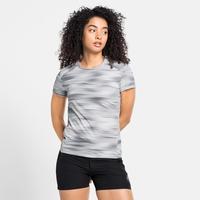 Damen FLI CHILL-TEC PRINT T-Shirt, odlo silver grey - graphic SS21, large