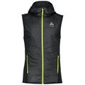 Vest IRBIS X-Warm, black - safety yellow, large