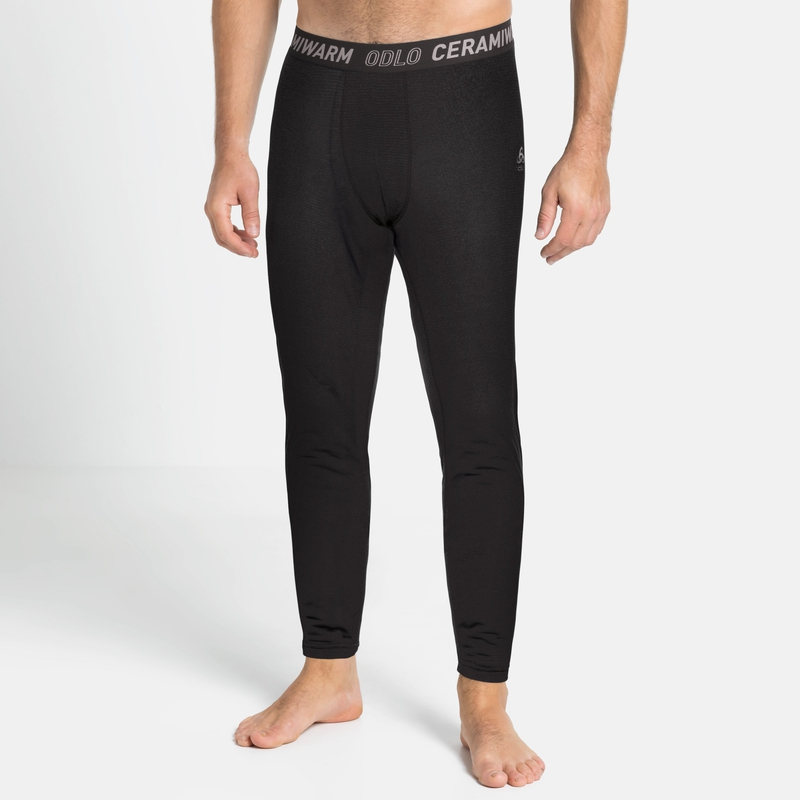 Herren ACTIVE THERMIC Base Layer Pants, black melange, large