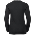 Damen HENRIETTE Funktionsunterwäsche Langarm-Shirt, black, large