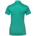 KOYA CERAMIWOOL kurzärmeliges Polohemd, pool green, large