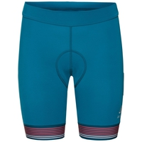 Damen ZEROWEIGHT Radshorts, crystal teal, large