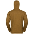 Midlayer con cappuccio HAVEN X-WARM da uomo, golden brown, large