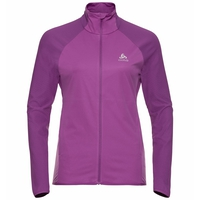 Damen ZEROWEIGHT WARM HYBRID Laufjacke, hyacinth violet, large