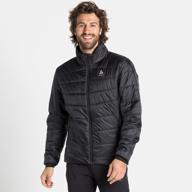 Gefütterte Herren COCOON S- THERMIC Jacke, black, large