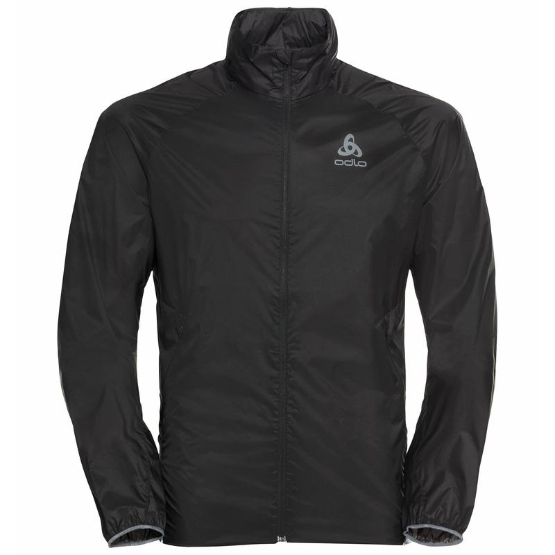 Wasserabweisende Herren ZEROWEIGHT DUAL DRY Jacke, black, large