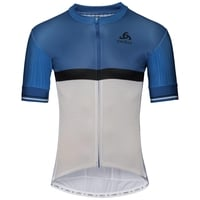 ZEROWEIGHT CERAMICOOL PRO Radtrikot, nebulas blue - white, large