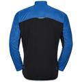 Men's ZEROWEIGHT Cycling Jacket, energy blue - black, large