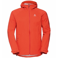 Men's AEGIS 2.5L Waterproof Jacket, mandarin red, large