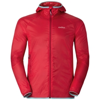 Herren WISP WINDPROOF Jacke, chinese red, large