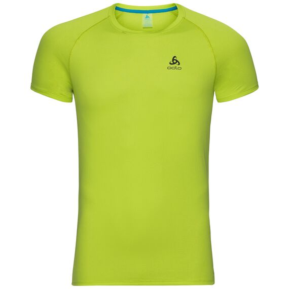 SUW TOP Crew neck s/s ACTIVE F-DRY LIGHT, acid lime, large