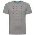 Herren MILLENNIUM ELEMENT PRINT T-Shirt, grey melange, large