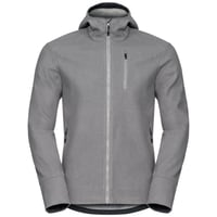Herren UNION Jacke, odlo concrete grey melange, large