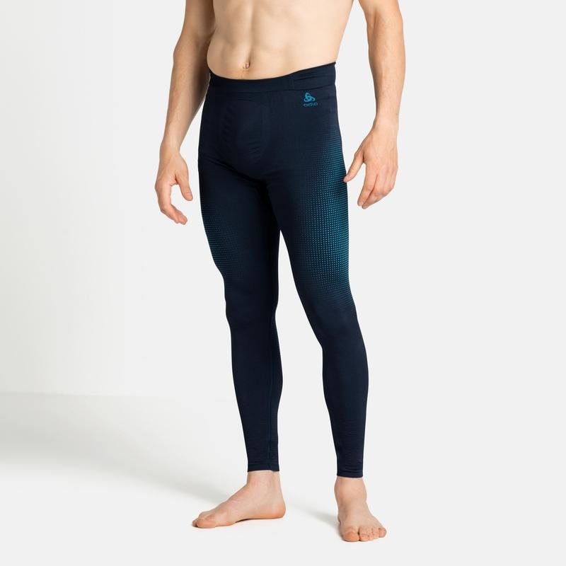 Collant technique PERFORMANCE WARM ECO pour homme, dark sapphire - stunning blue, large