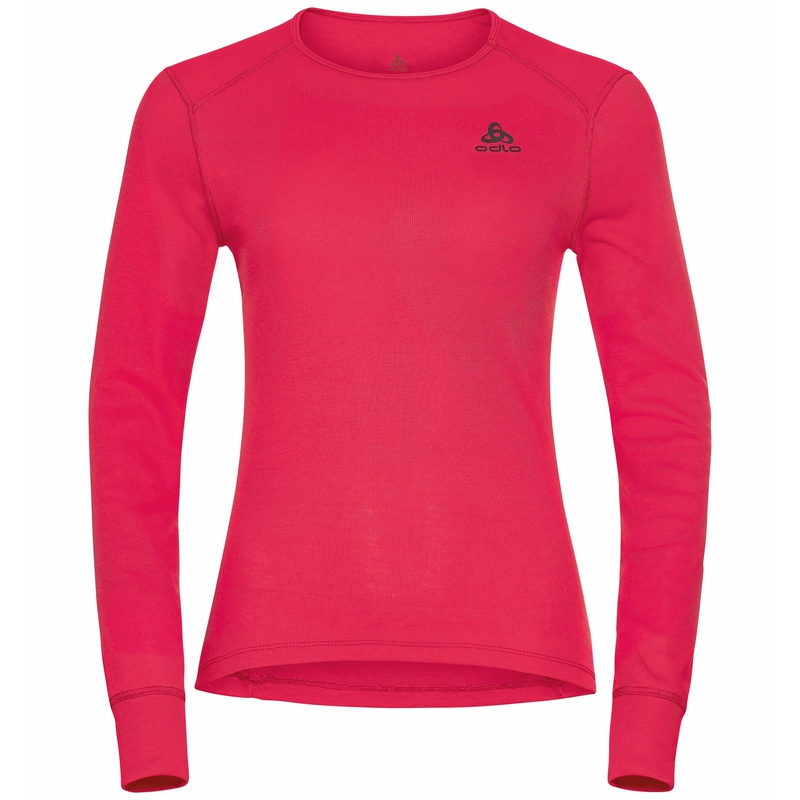 Women's ACTIVE WARM ECO Long-Sleeve Base Layer Top, deep claret, large