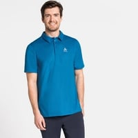 F-DRY-poloshirt voor heren, blue aster, large