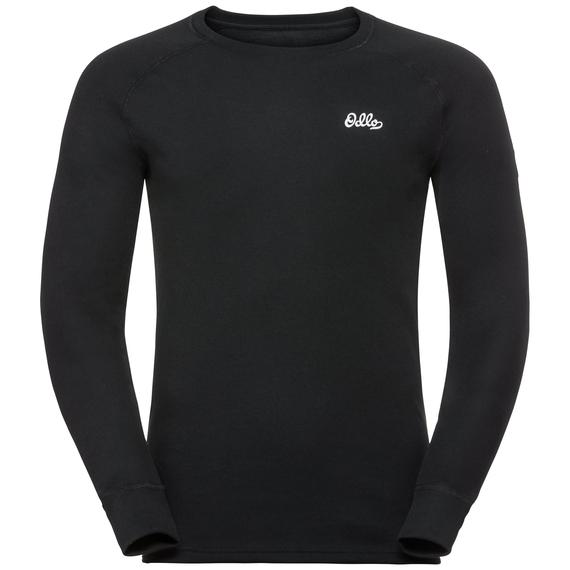 T-shirt technique à manches longues ADAM pour homme, black, large