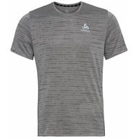 Men's ZEROWEIGHT ENGINEERED CHILL-TEC Running T-shirt, odlo steel grey melange, large