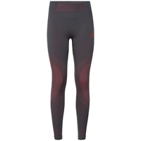 PERFORMANCE WARM-basislaagbroek voor dames, odyssey gray - diva pink, large