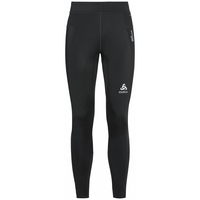Men's DUAL DRY WATER RESISTANT Running Tights, black, large