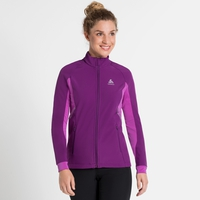 Women's AEOLUS Jacket, charisma - purple cactus flower, large