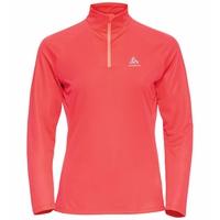 Women's ESSENTIAL Half-Zip Running Midlayer, siesta, large