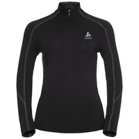 Sillian 1/2 zip, black, large