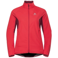 Women's AEOLUS ELEMENT Jacket, hibiscus - rumba red, large
