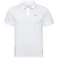 Polo NIKKO da uomo, white, large