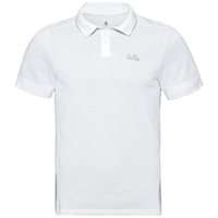 Men's NIKKO Polo Shirt, white, large
