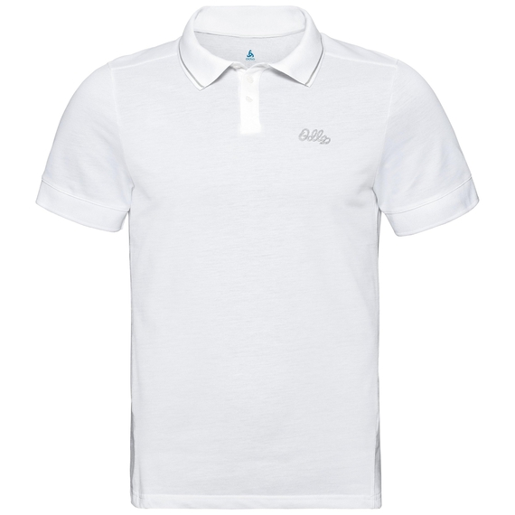 Polo manches courtes NIKKO, white, large