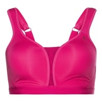 Padded High Sports Bra, beetroot purple, large