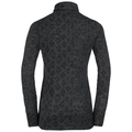 Shirt l/s turtle neck VERMONT II, black melange, large