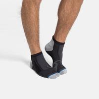 LIGHT Low Socks, black - grey melange, large