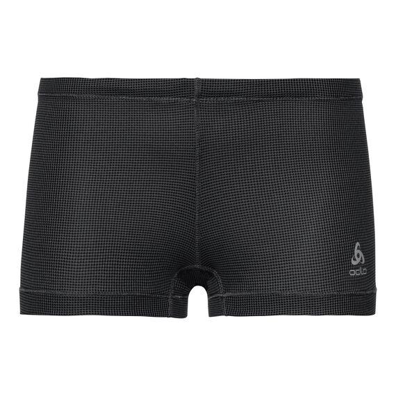SUW Bottom Panty ACTIVE Cubic LIGHT, ebony grey - black, large