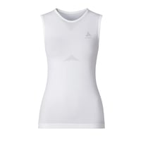 EVOLUTION LIGHT baselayer singlet voor dames, white, large