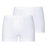 ACTIVE CUBIC LIGHT-sportboxershort voor heren, set van 2, white - snow white, large