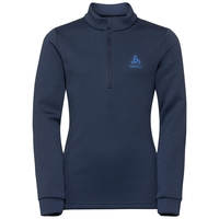 CARVE KIDS WARM 1/2 Zip Mid Layer, diving navy - diving navy, large