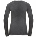 PERFORMANCE WARM ECO-basislaag met lange mouwen voor dames, grey melange - black, large