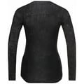 Women's ZEROWEIGHT CERAMIWARM Cycling Base Layer Top, black - graphic FW20, large