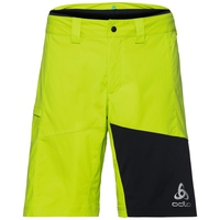 Shorts MORZINE ELEMENT met innerlijke briefing, acid lime - black, large