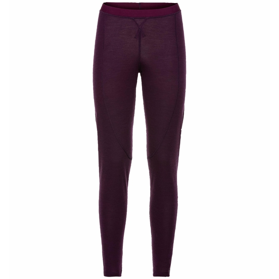 Pants NATURAL + WARM, pickled beet melange, large