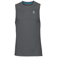 Men's F-Dry Singlet, odlo steel grey, large