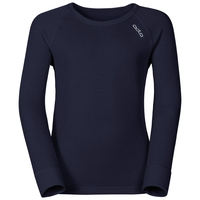 Sous-vêtement technique T-shirt manches longues ACTIVE WARM KIDS, peacoat, large