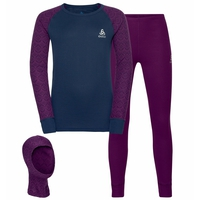 Set ACTIVE WARM ECO KIDS 3in1, charisma - diving navy, large