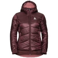 Gevoerde COCOON S-THERMIC X-WARM-jas voor dames, decadent chocolate, large