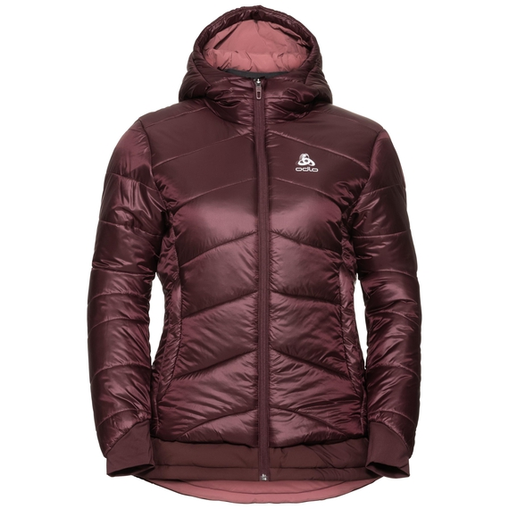 Women's COCOON S-THERMIC X-WARM Insulated Jacket, decadent chocolate, large