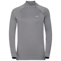 Women's HELENA 1/2 Zip Midlayer, odlo concrete grey, large