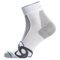 LIGHT Quarter Socks, white, large