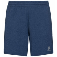 Short da corsa Millennium Element da uomo, estate blue melange, large